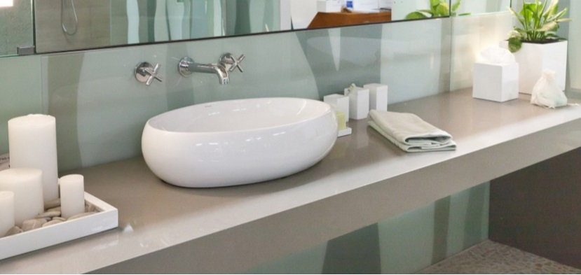 Silestone bathroom countertops